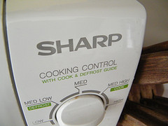 Sharp Microwave Oven Cooking Control